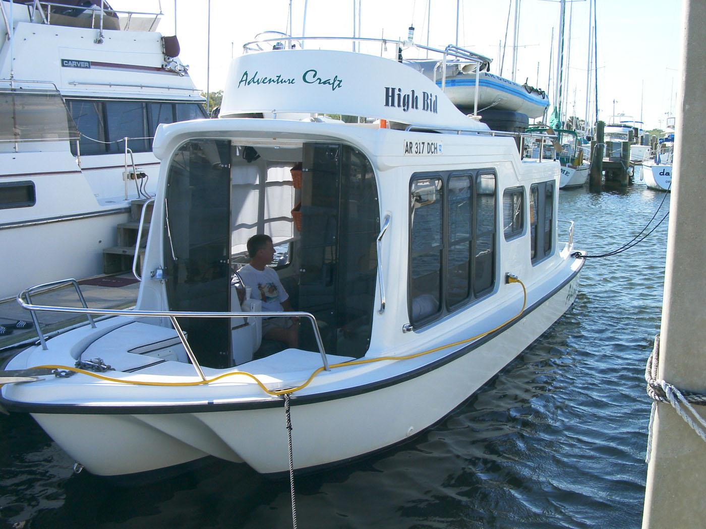 Adventure Craft Houseboat